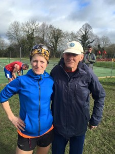 Wokingham half 2016 with Bruce